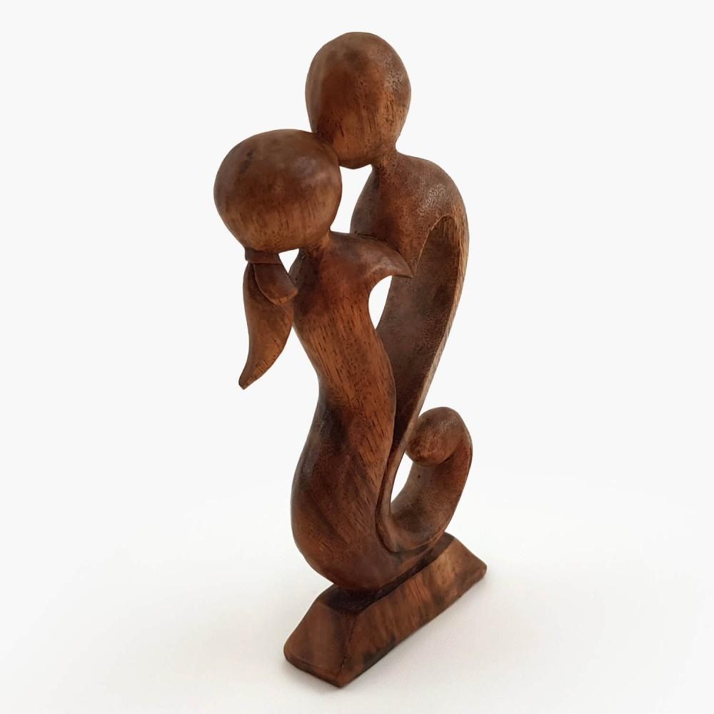 Escultura Beijo 20cm - Foto 2