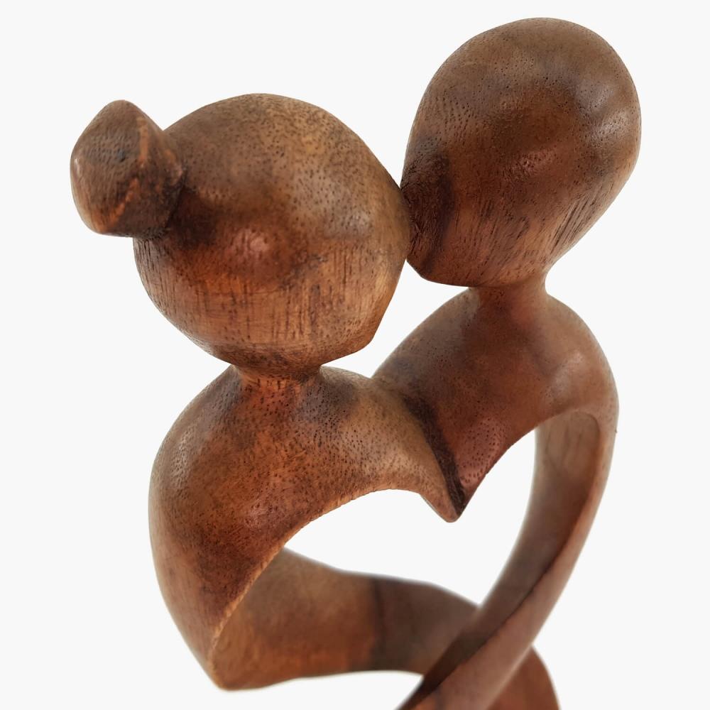 Escultura Beijo 30cm - Foto 3