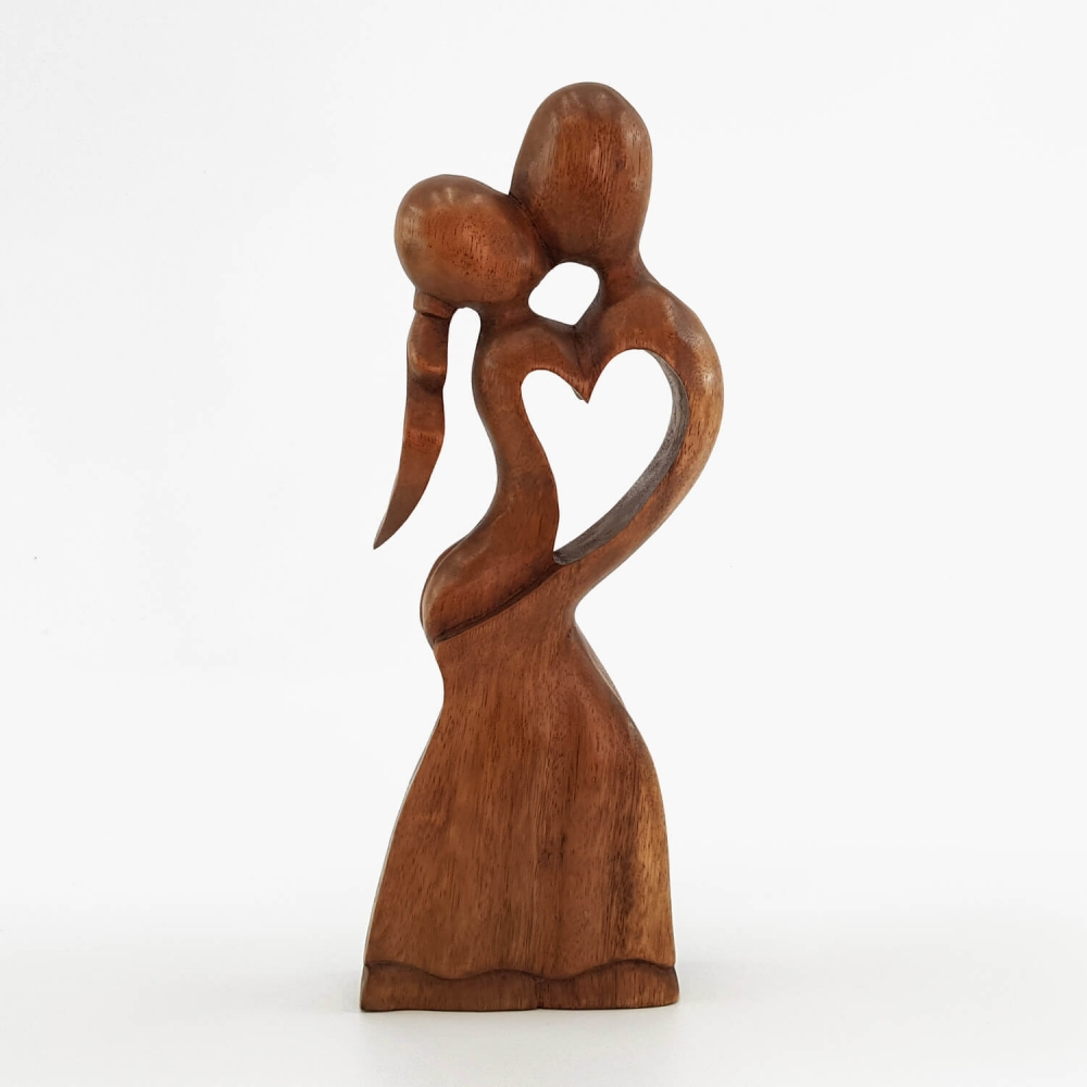 Escultura Beijo 30cm - Foto 1