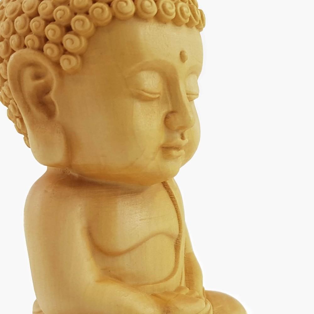 Escultura Buda 10cm - Foto 3