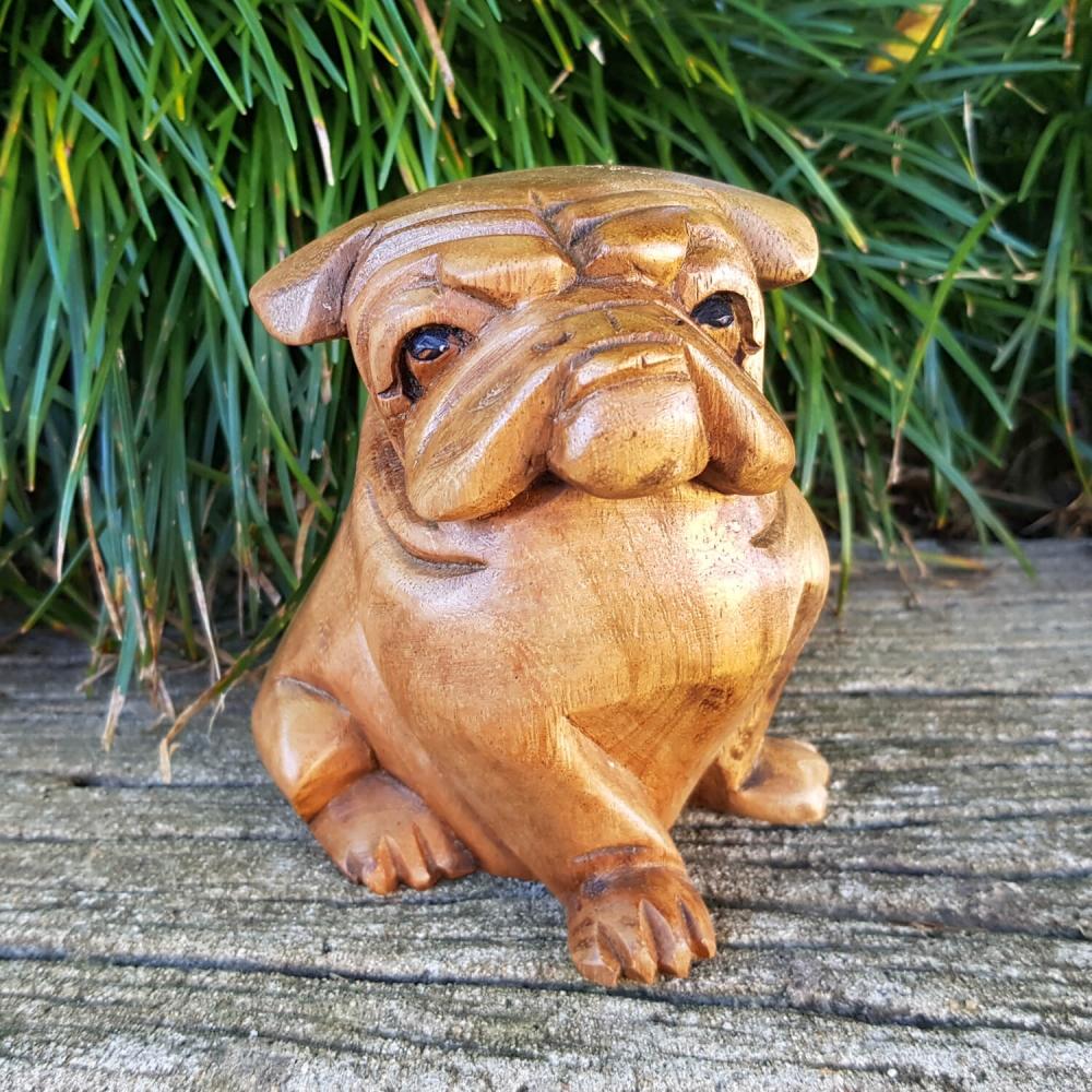 Escultura Bulldog - 12cm - Foto 1