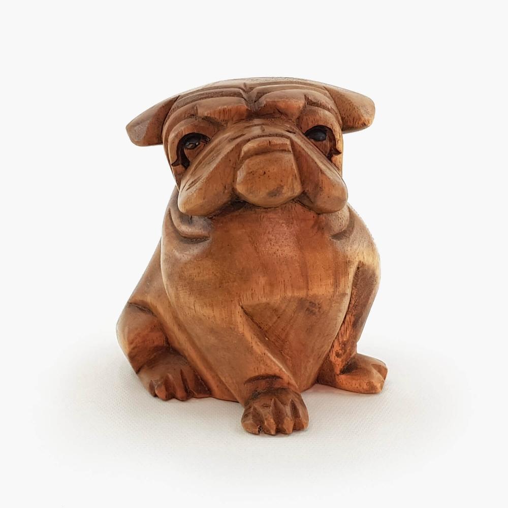 Escultura Bulldog - 12cm - Foto 2
