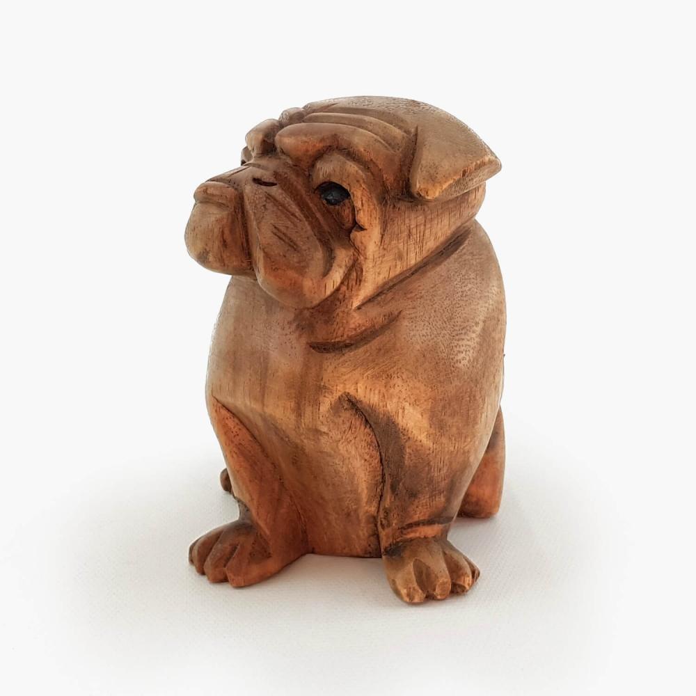 Escultura Bulldog - 12cm - Foto 3