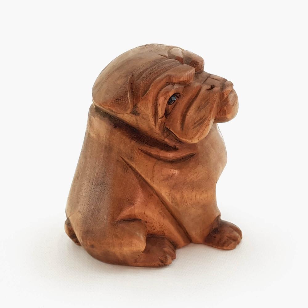 Escultura Bulldog - 12cm - Foto 4