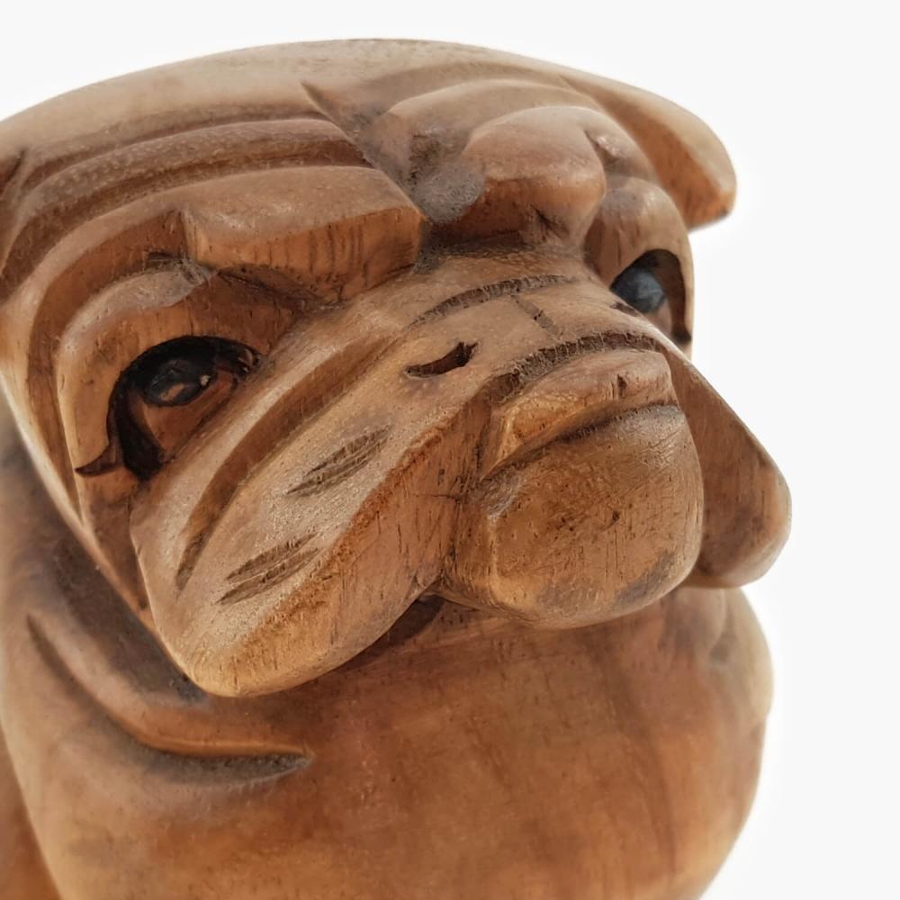 Escultura Bulldog - 12cm - Foto 6