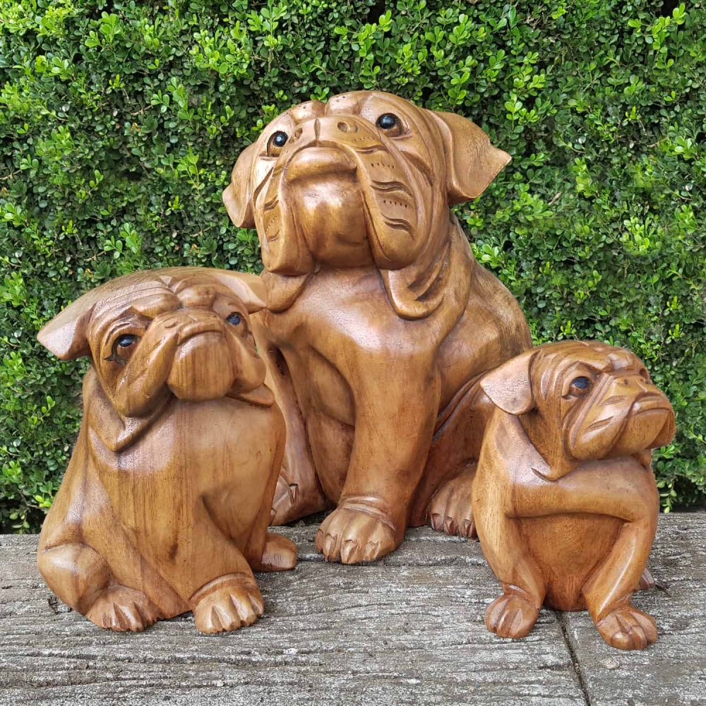 Escultura Bulldog - Foto 1