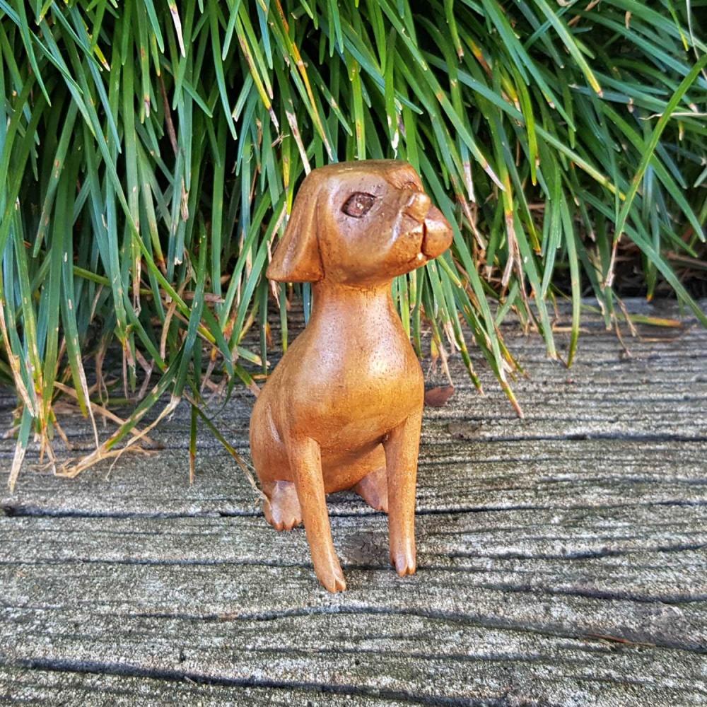 Escultura cachorro 10cm - Foto 1