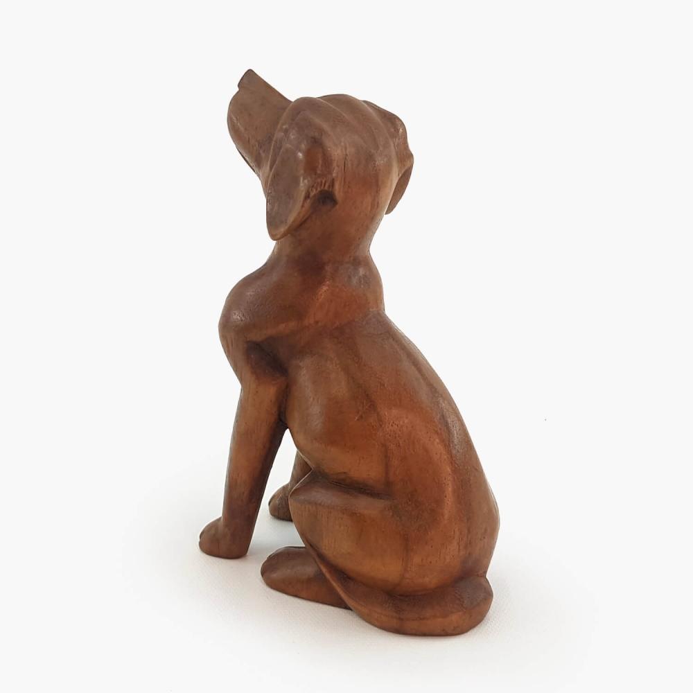 Escultura cachorro 17cm - Foto 4