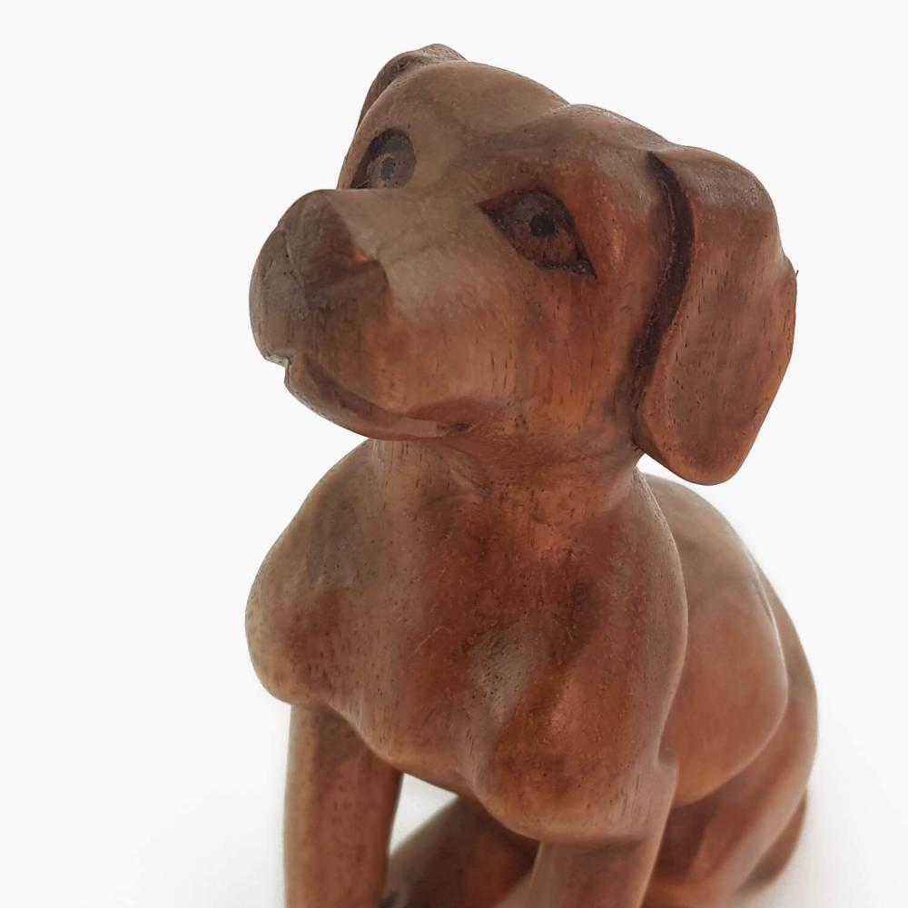 Escultura cachorro 17cm - Foto 6