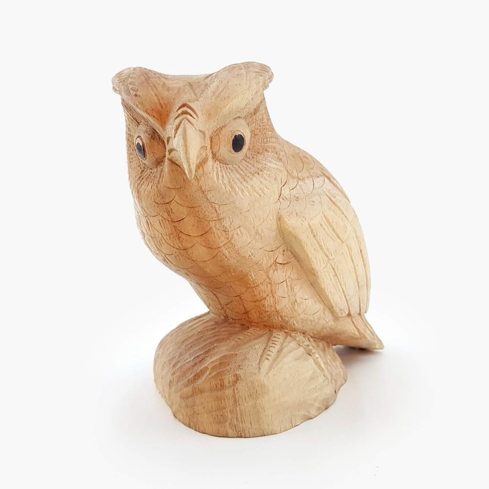 Escultura Coruja 15cm - Foto 2