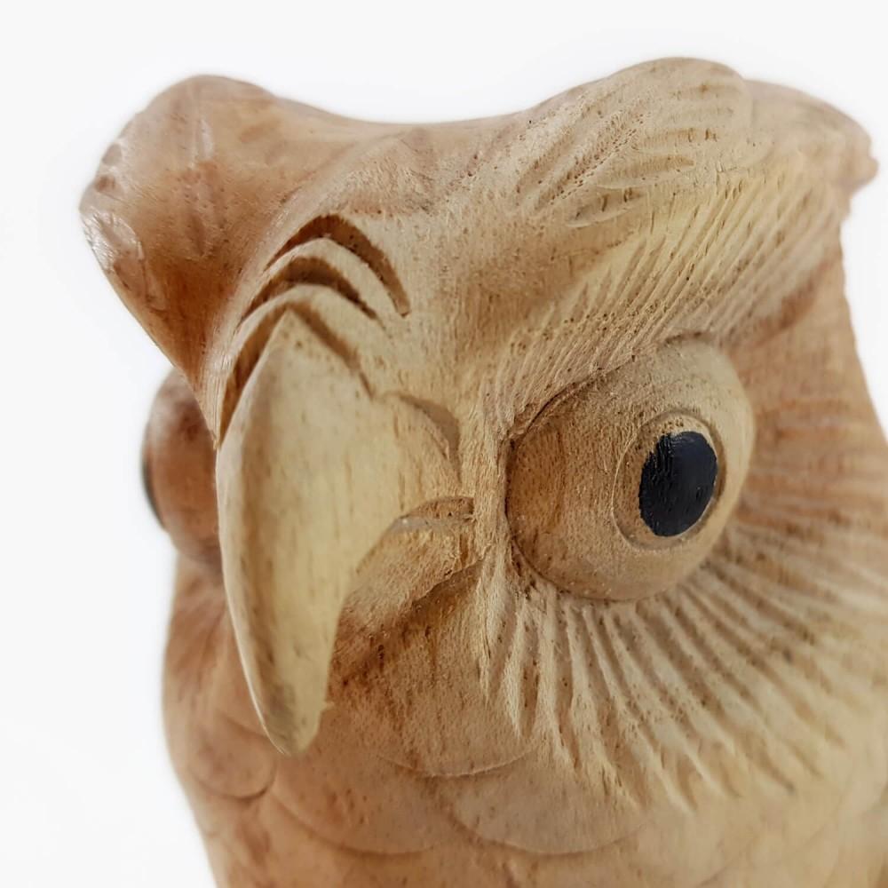 Escultura Coruja 15cm - Foto 3