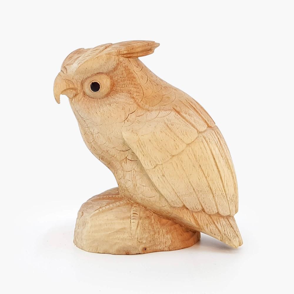 Escultura Coruja 15cm - Foto 4