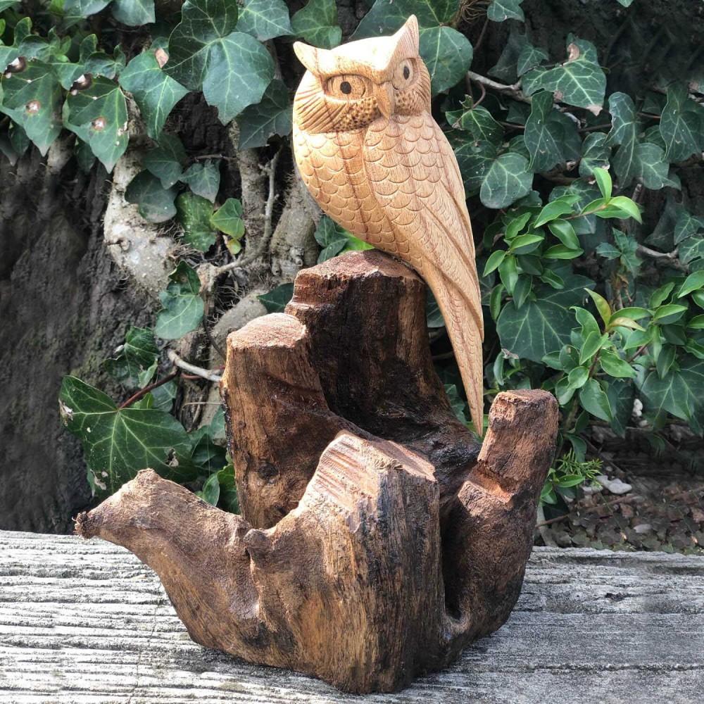 Escultura Coruja 24cm  - Foto 1