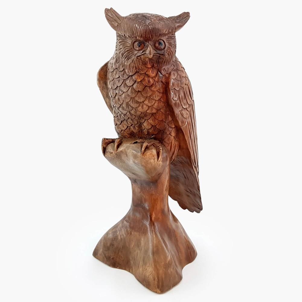 Escultura Coruja 52cm - Foto 2