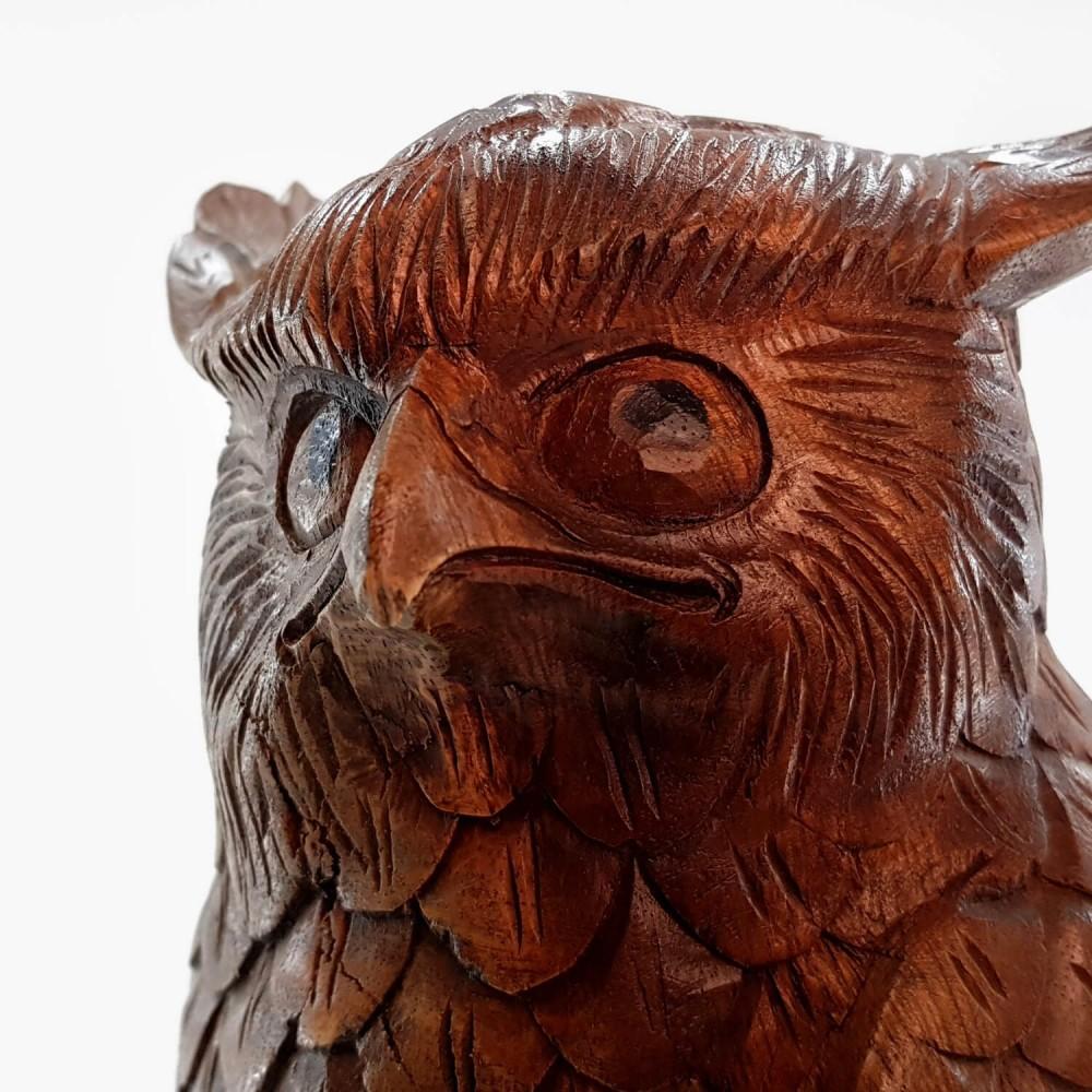 Escultura Coruja 52cm - Foto 3