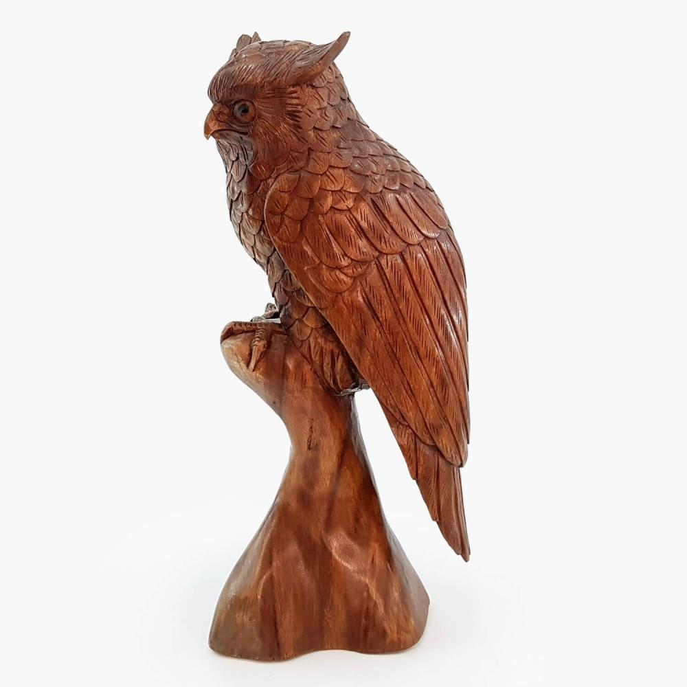 Escultura Coruja 52cm - Foto 4