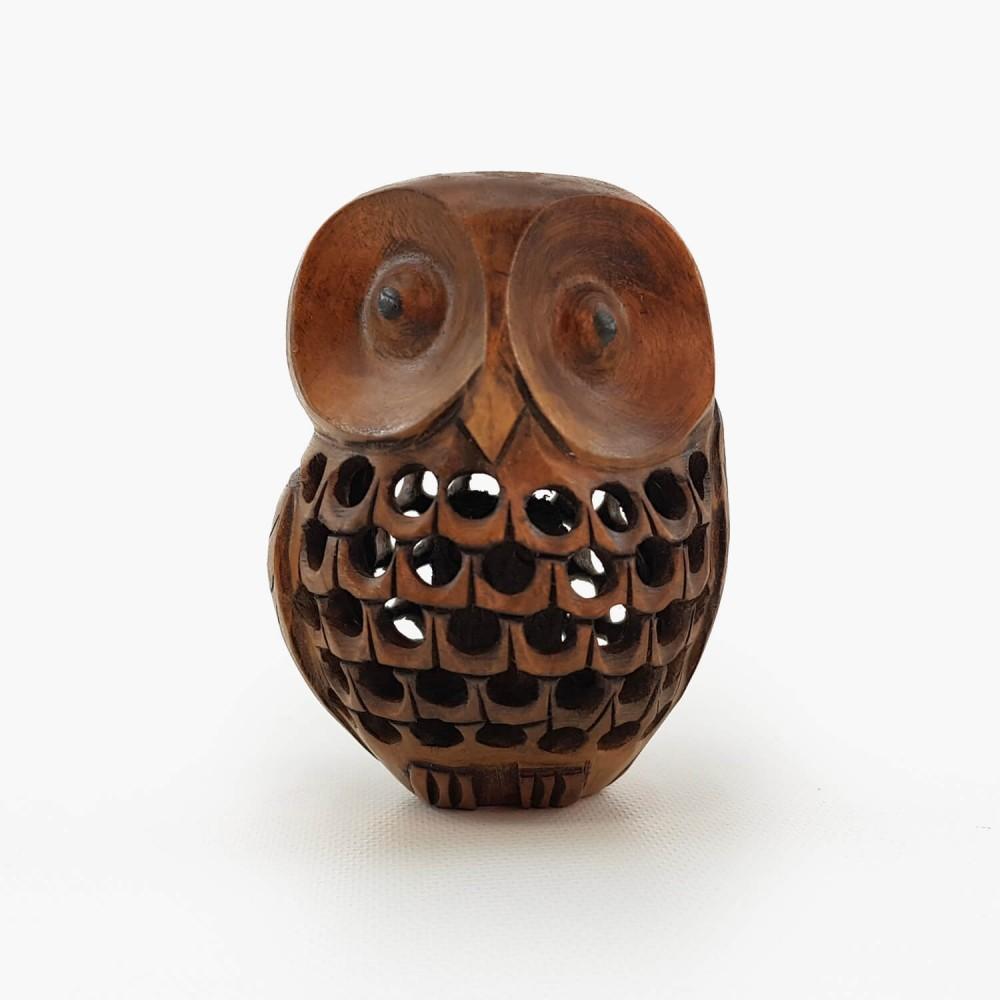Escultura Coruja Indiana 1 - Foto 2