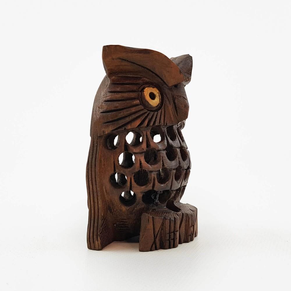 Escultura Coruja Indiana 3 - Foto 4