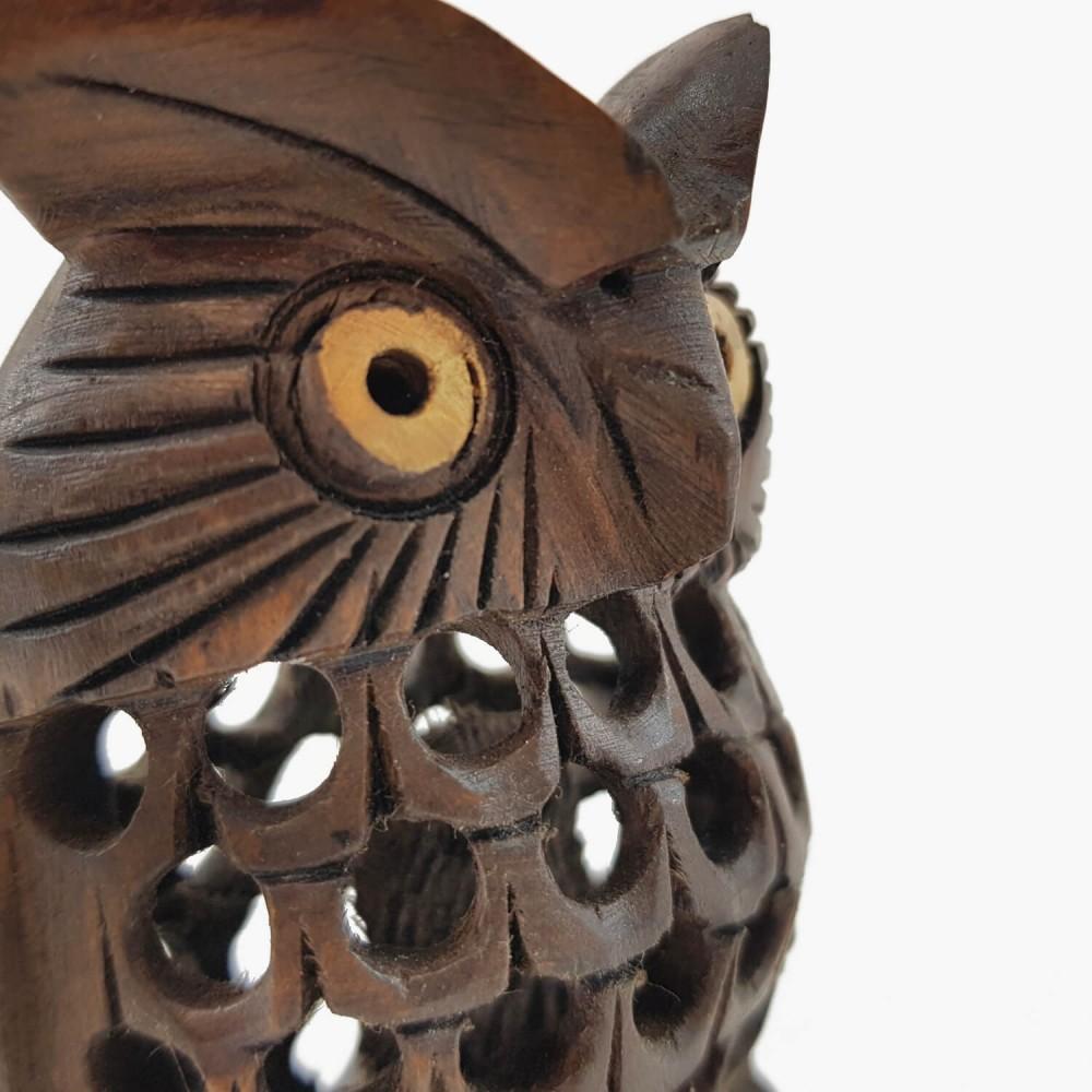 Escultura Coruja Indiana 3 - Foto 5