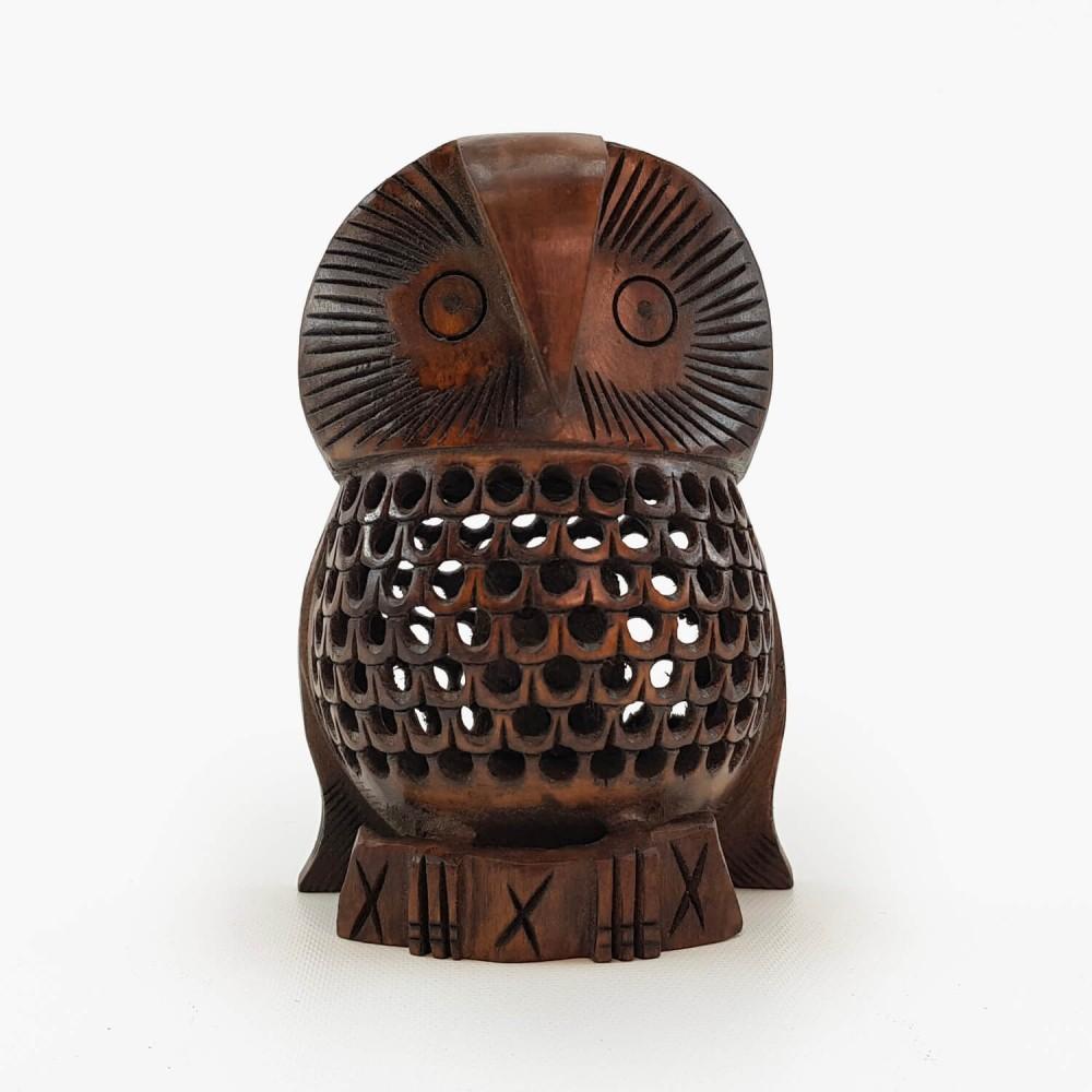 Escultura Coruja Indiana 2 - Foto 2