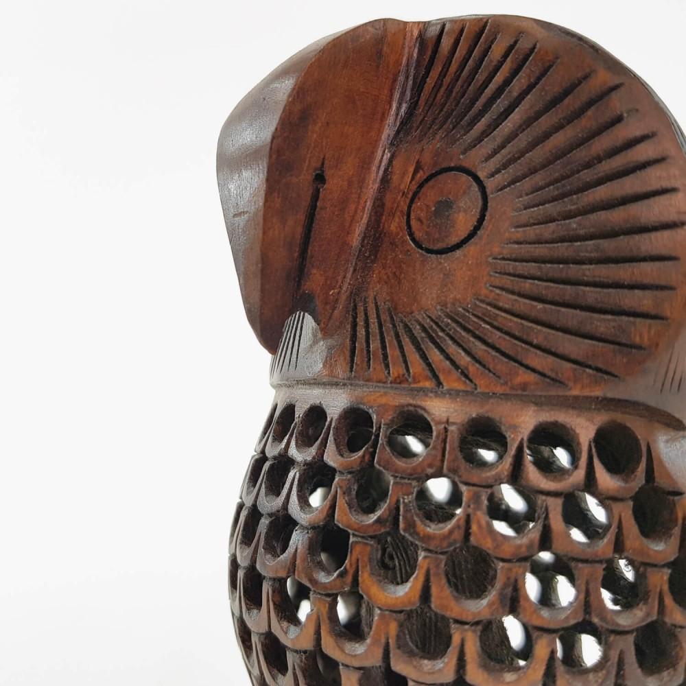 Escultura Coruja Indiana 2 - Foto 5