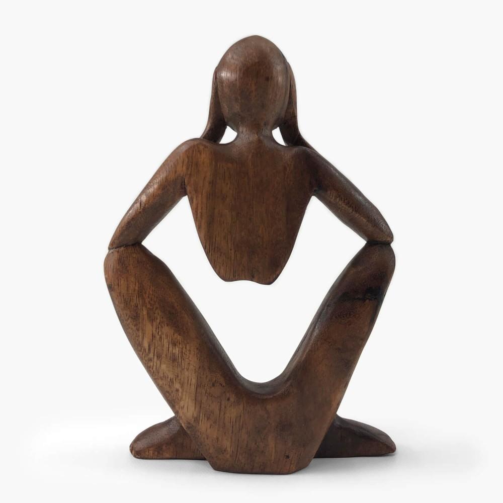 Escultura Sentado  - Foto 3