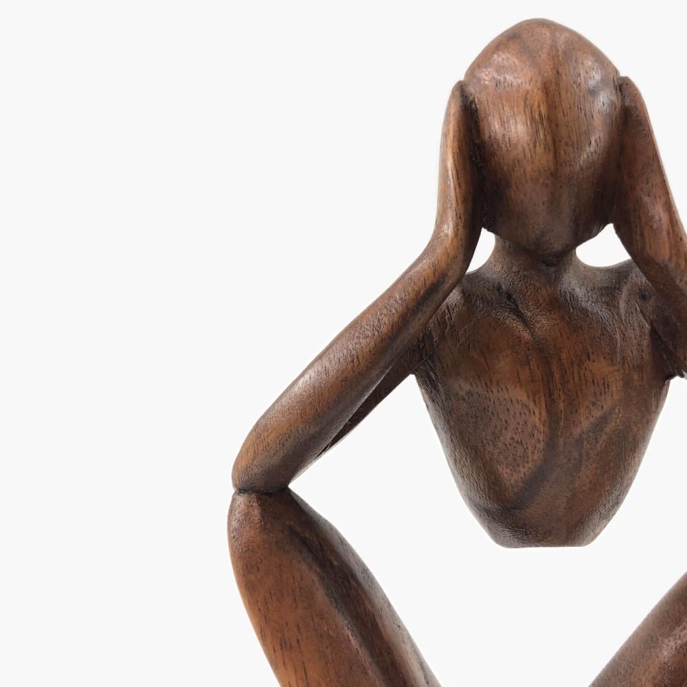 Escultura Sentado  - Foto 4