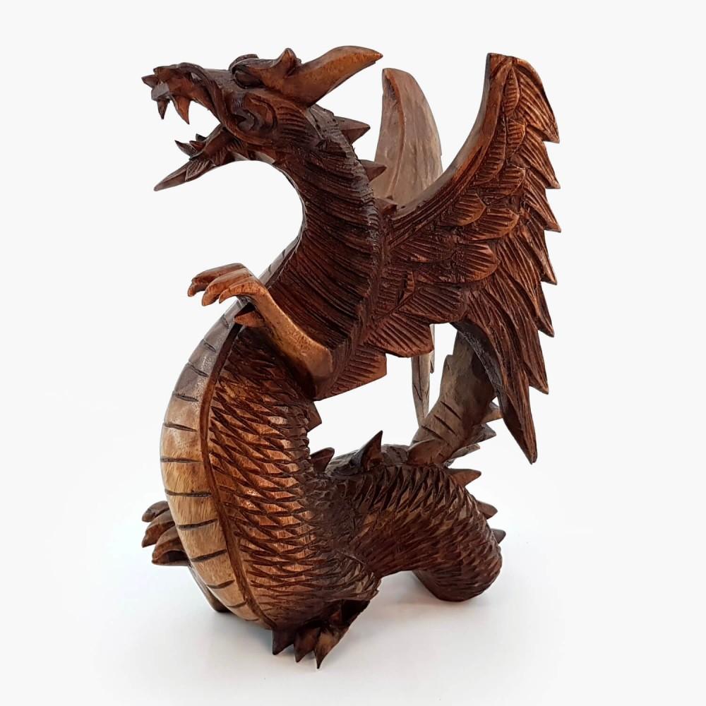 Escultura Dragão Alado - Foto 2