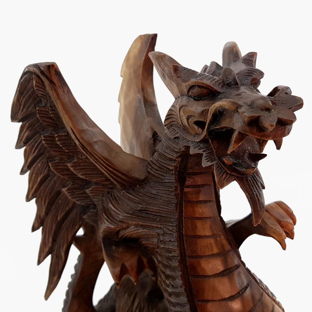 Escultura Dragão Alado - Foto 4