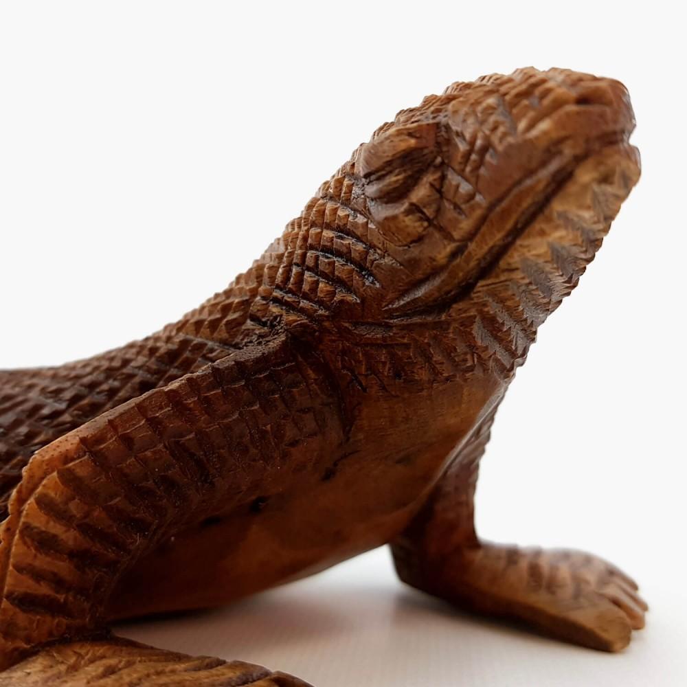 Escultura Dragão-de-Komodo - Foto 3
