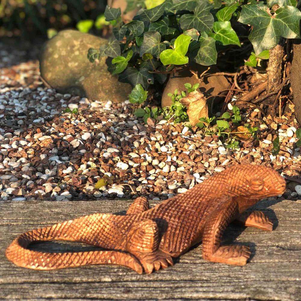 Escultura Dragão-de-Komodo - Foto 1