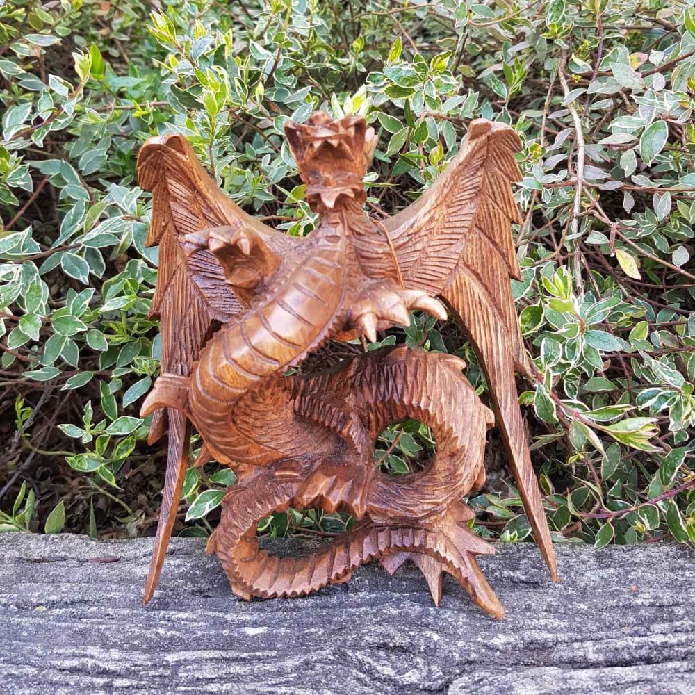 Escultura Dragão de Parede - Foto 1