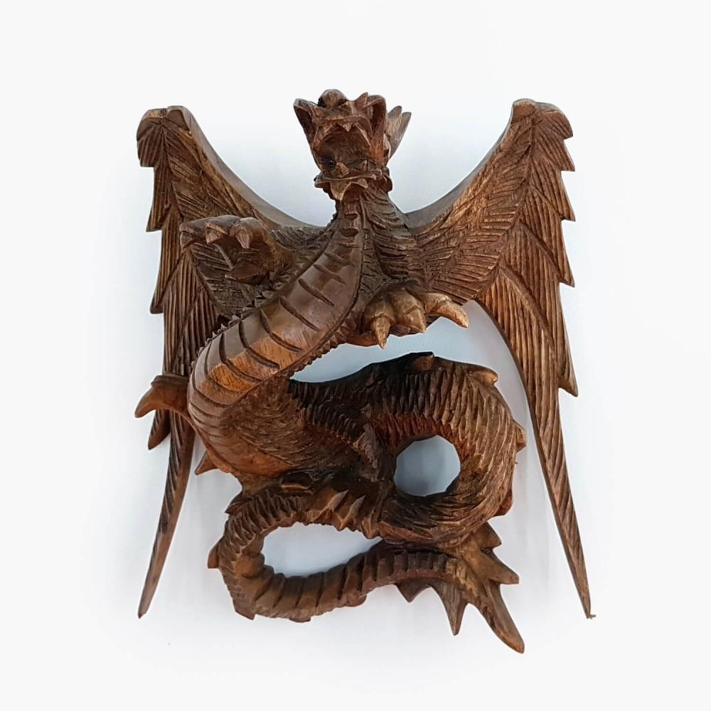 Escultura Dragão de Parede - Foto 2