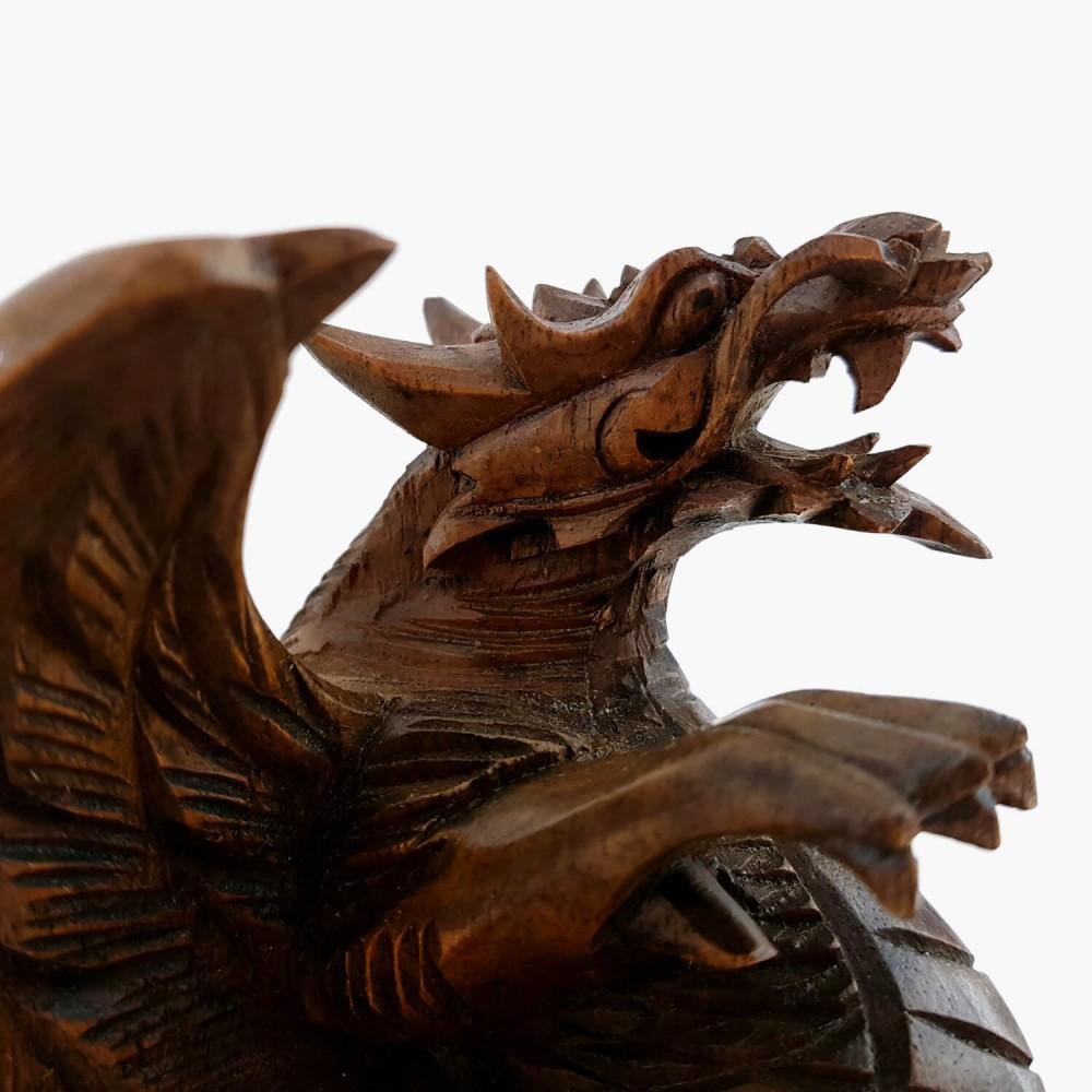Escultura Dragão de Parede - Foto 5