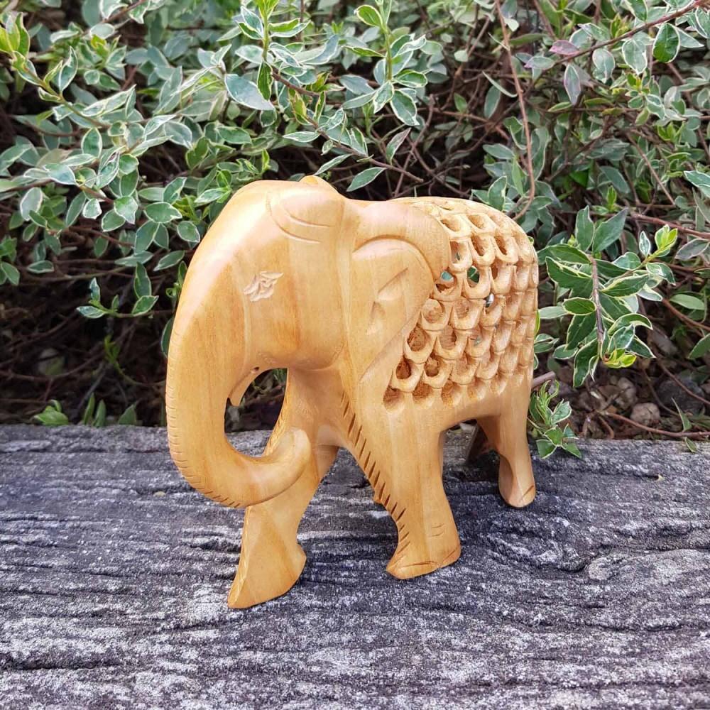 Escultura Elefante Indiano 3 - Foto 1
