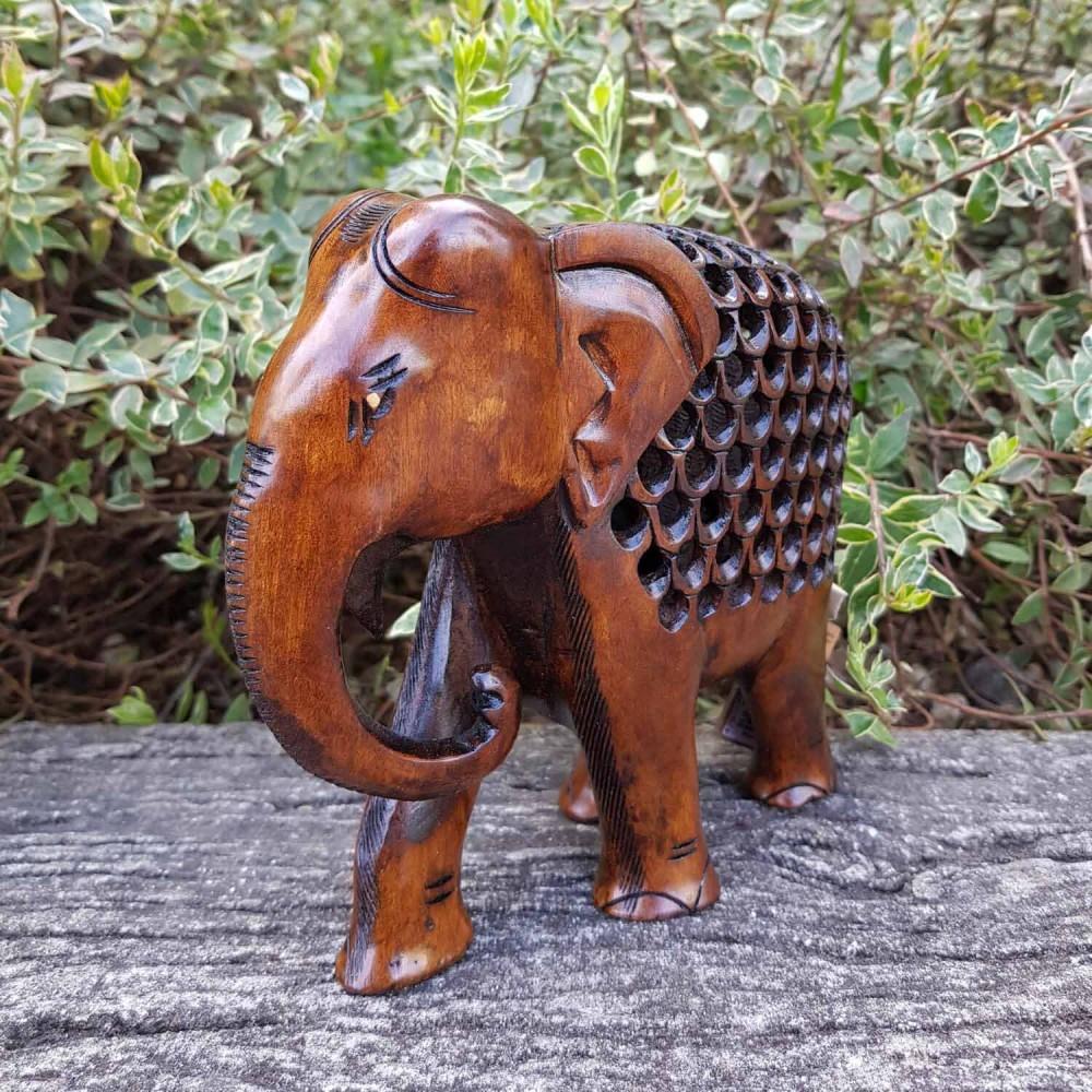Escultura Elefante Indiano 1 - Foto 1