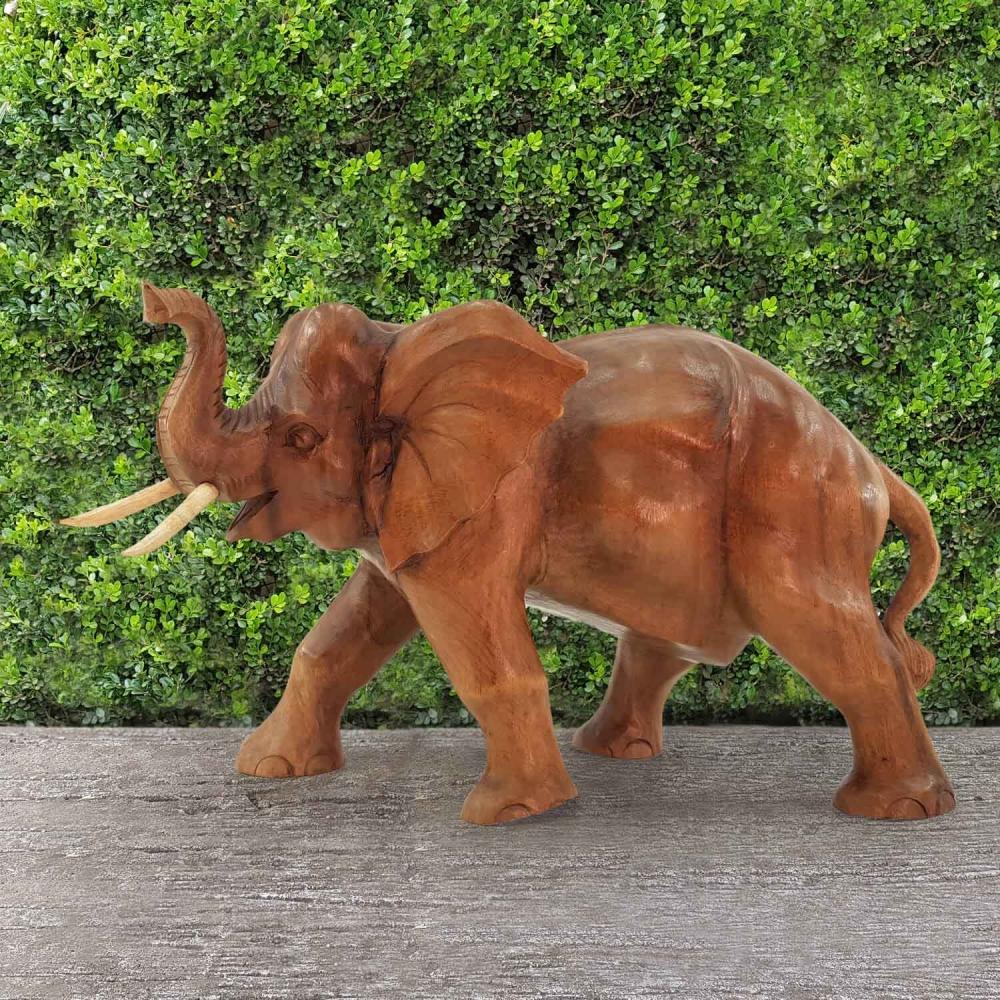 Escultura Elefante 30cm - Foto 1