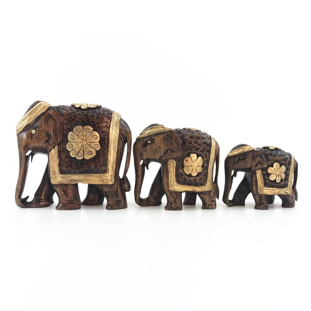 Escultura Elefante Dourado - Foto 4