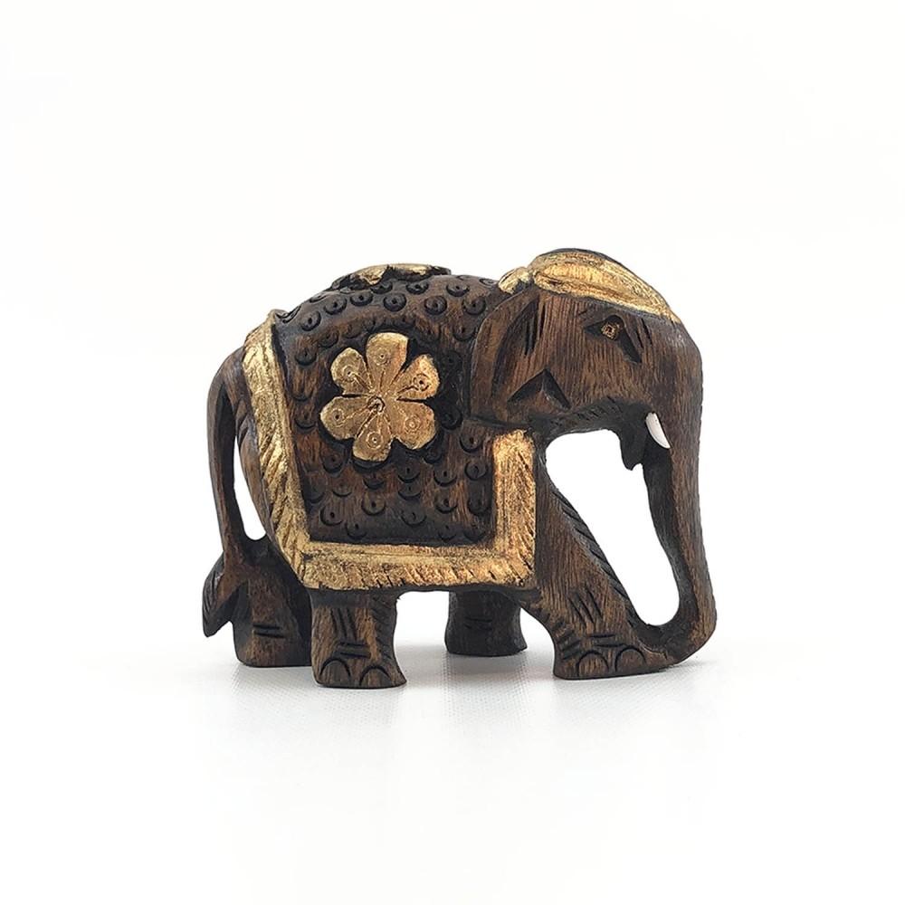 Escultura Elefante Dourado - Foto 5
