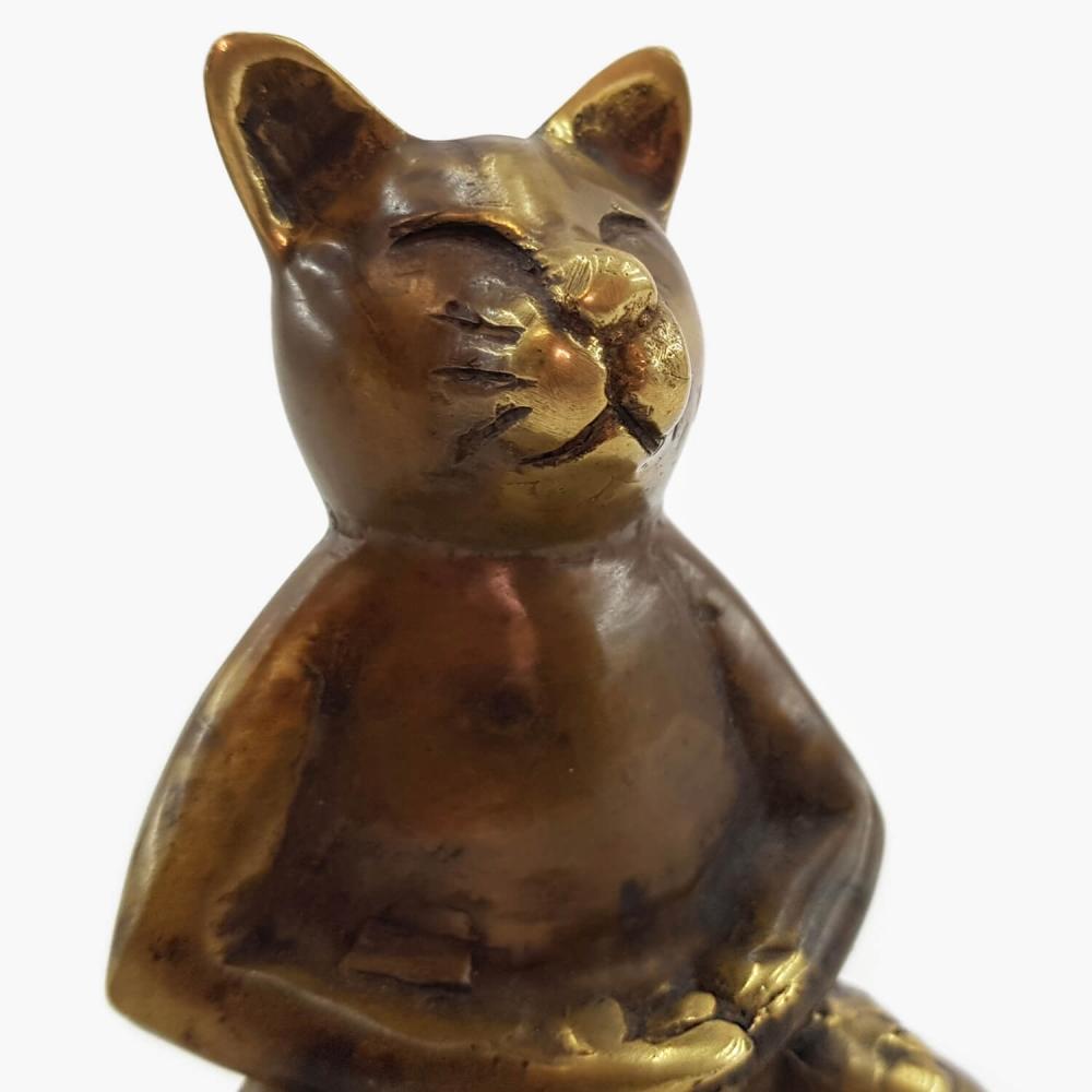 Escultura gato - Foto 6