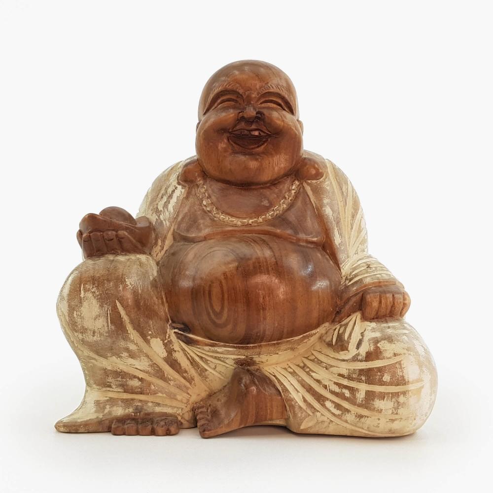 Escultura Happy Buda - Foto 2
