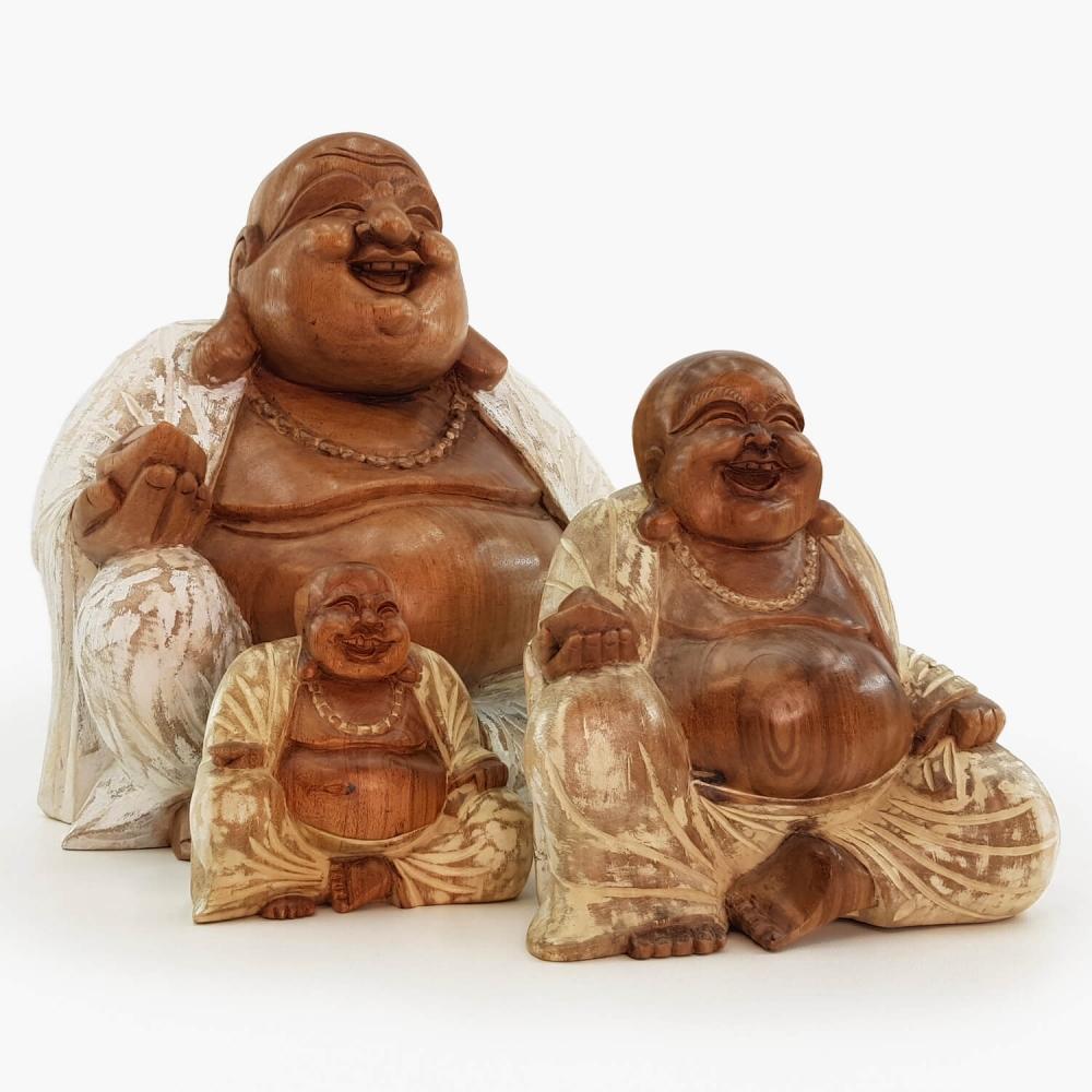Escultura Happy Buda - Foto 1