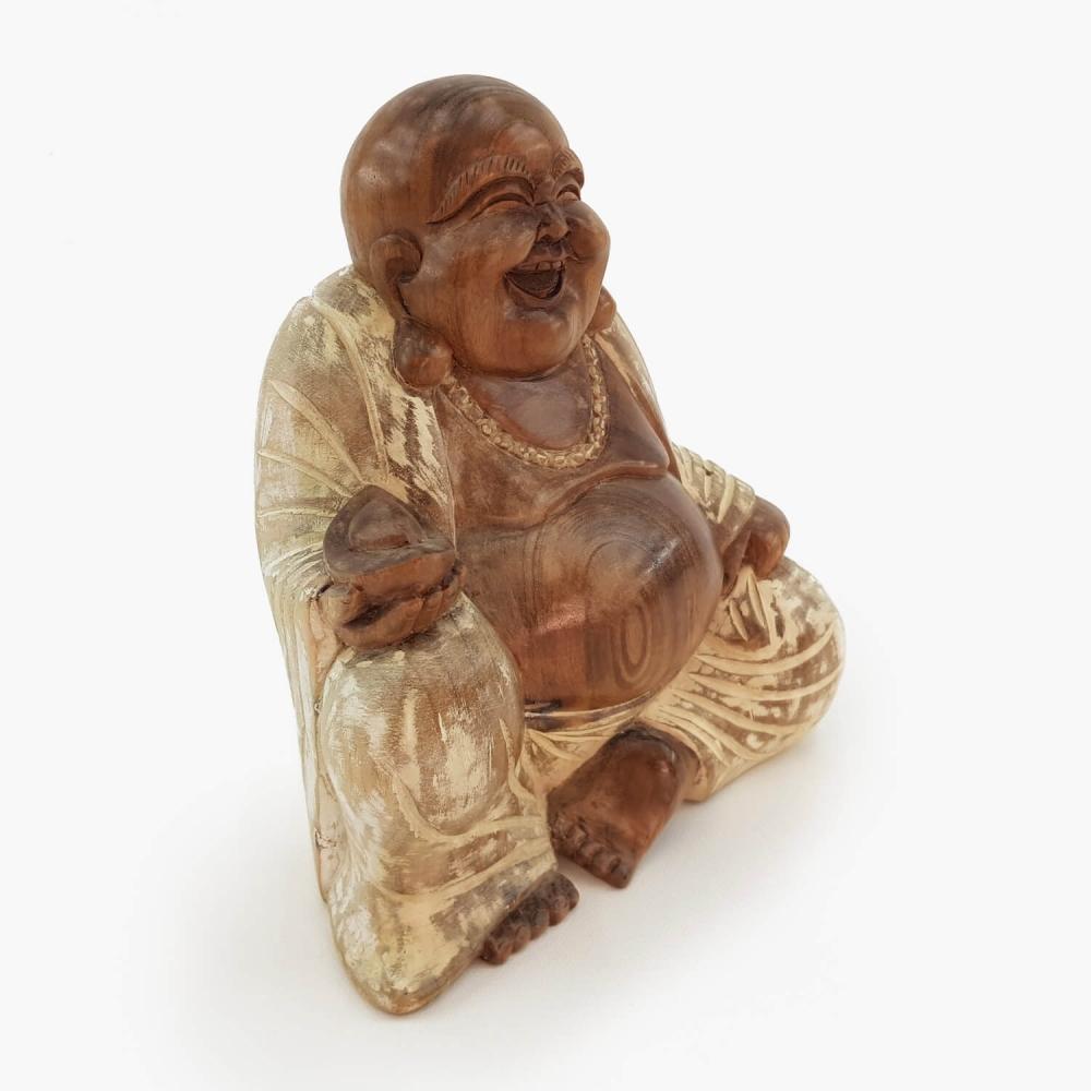 Escultura Happy Buda - Foto 3