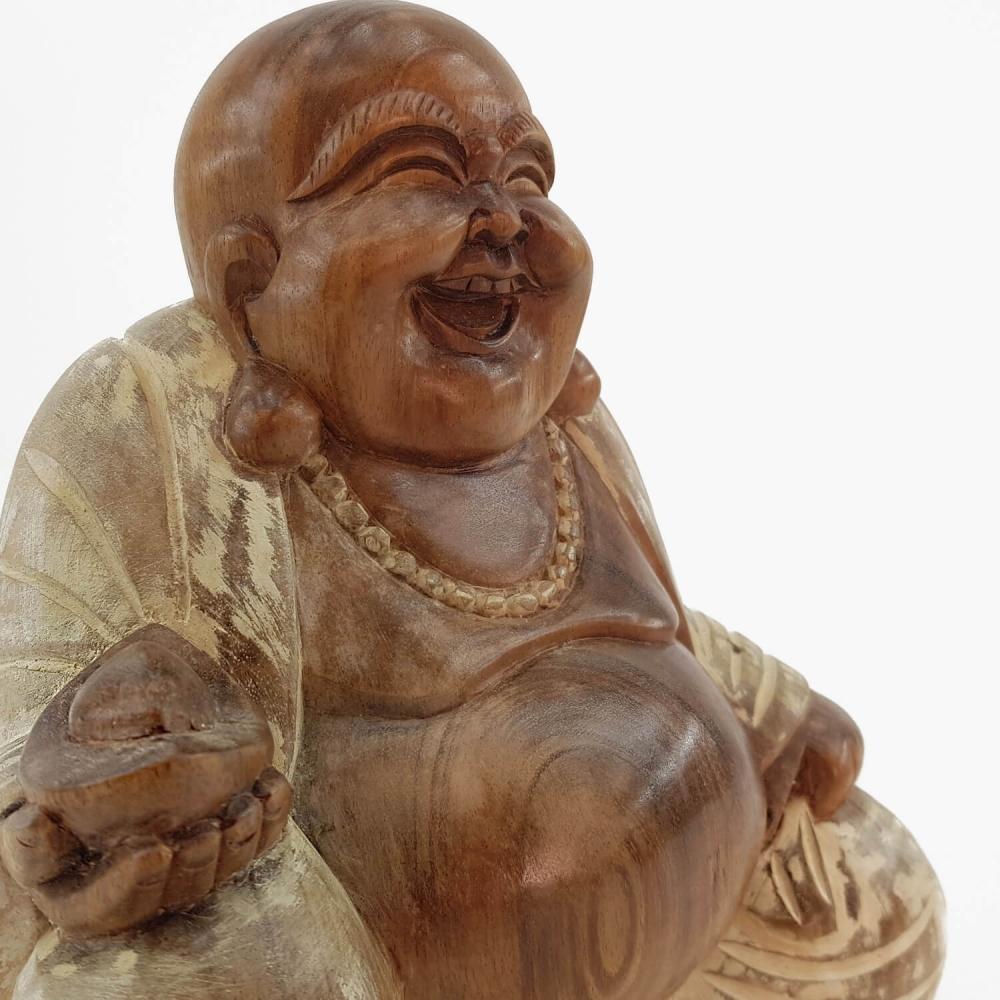 Escultura Happy Buda - Foto 4