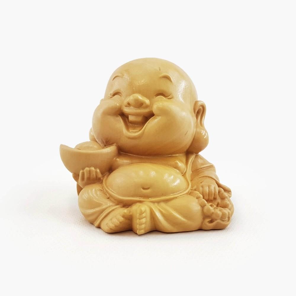 Escultura Happy Buda 6cm - Foto 1