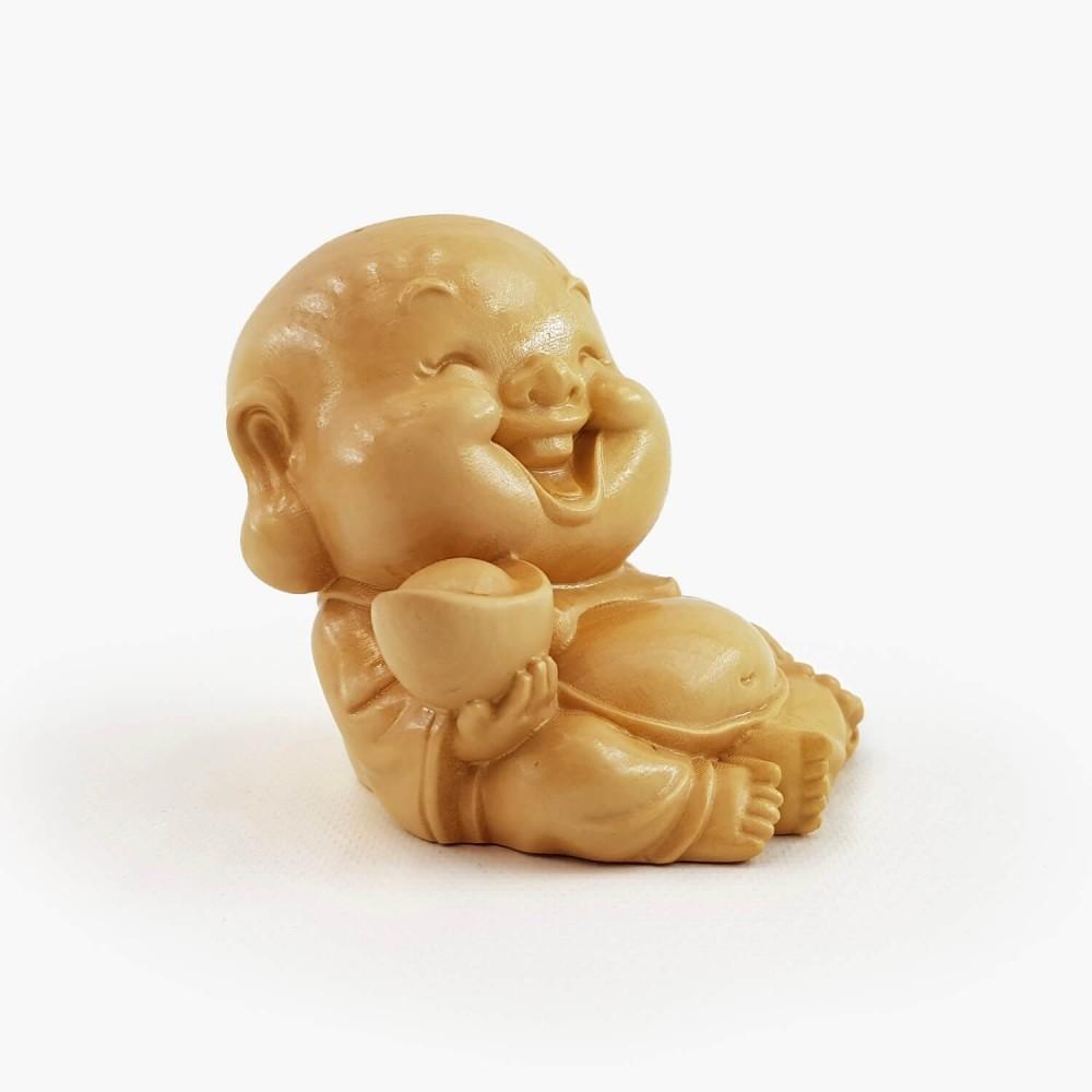 Escultura Happy Buda 6cm - Foto 2