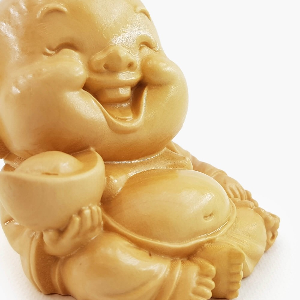 Escultura Happy Buda 6cm - Foto 3