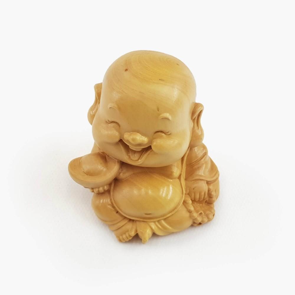 Escultura Happy Buda 6cm - Foto 4