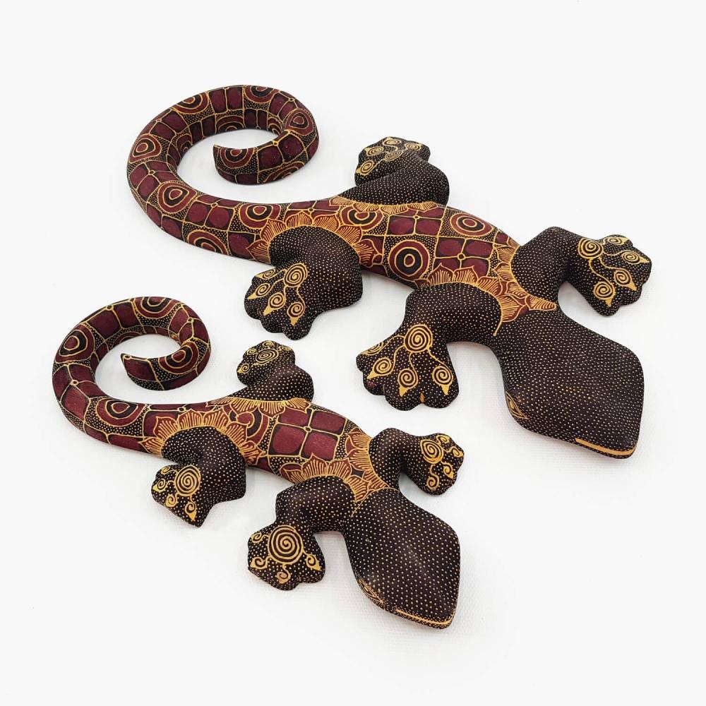 Escultura Lagartixa Batik - Foto 2