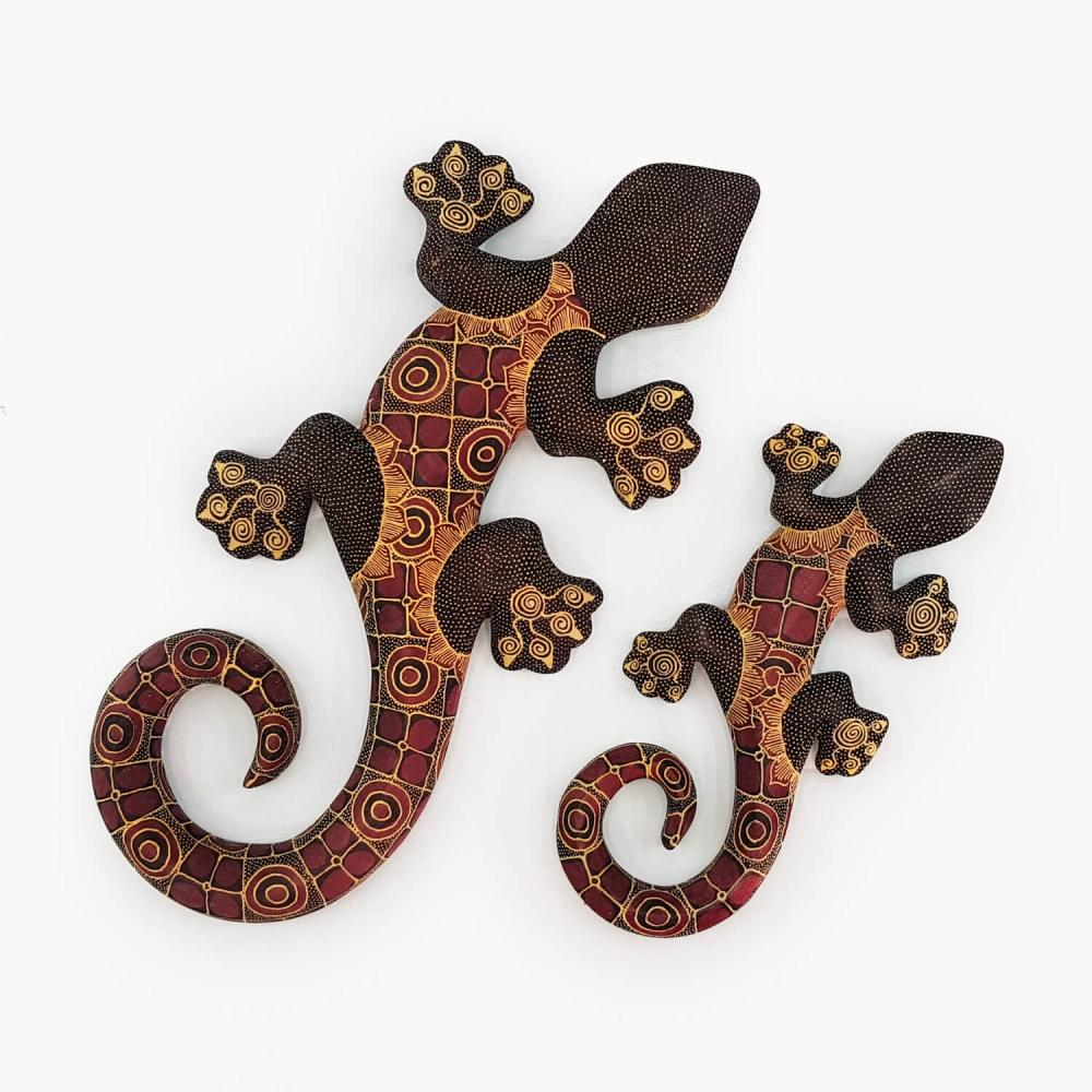 Escultura Lagartixa Batik - Foto 3